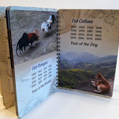 Виды настольных календарей