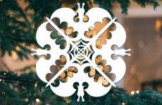 Снежинки на окна из бумаги. Трафареты и шаблоны.