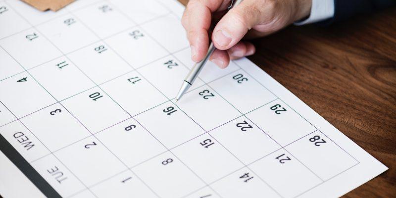 Печать календарей: цены 2019 года.
