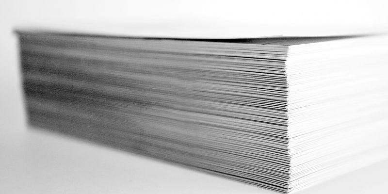 Формат бумаги, размеры